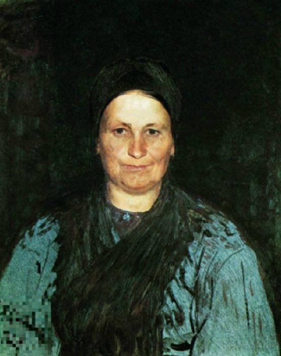 Татьяна Степановна Репина. (1879). Автор: Илья Репин.
