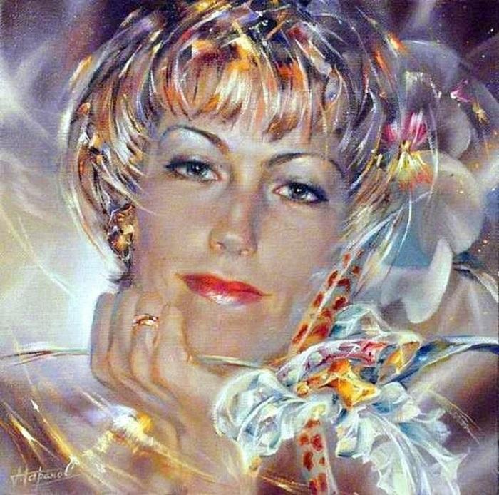 Портретная живопись Александра Маранова.