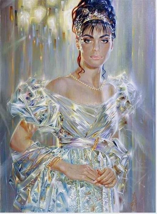 Сверкающая живопись от Александра Маранова.