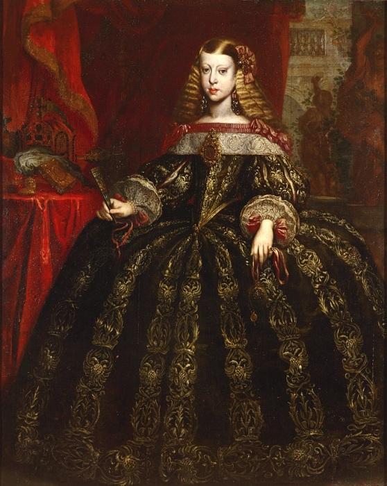 Инфанта Маргарита Тереза. (1665). Автор: Герард дю Шато.