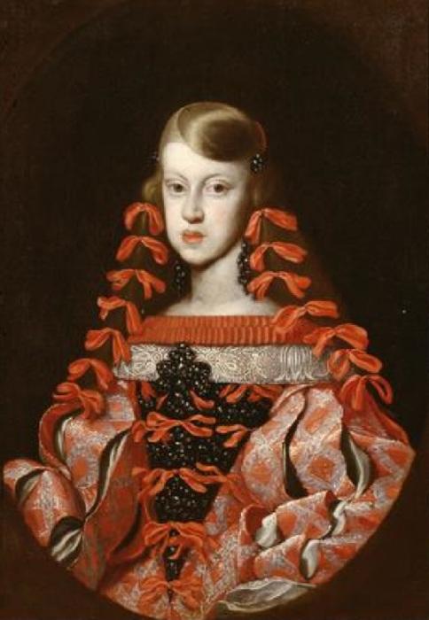 Неизвестный художник. Инфанта Маргарита Тереза, (1664).