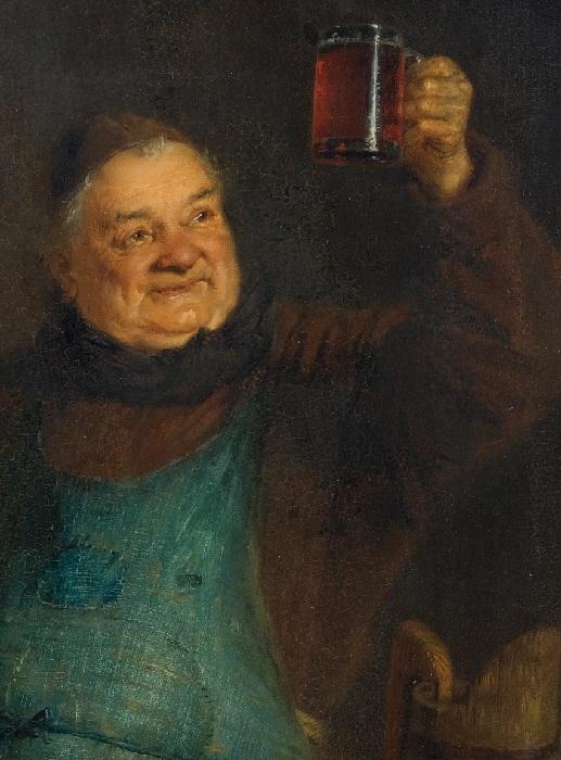 Взгляд главного пивовара. Автор: Эдуард фон Грютцнер.