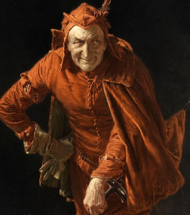 Мефистофель. Автор: Эдуард фон Грютцнер.