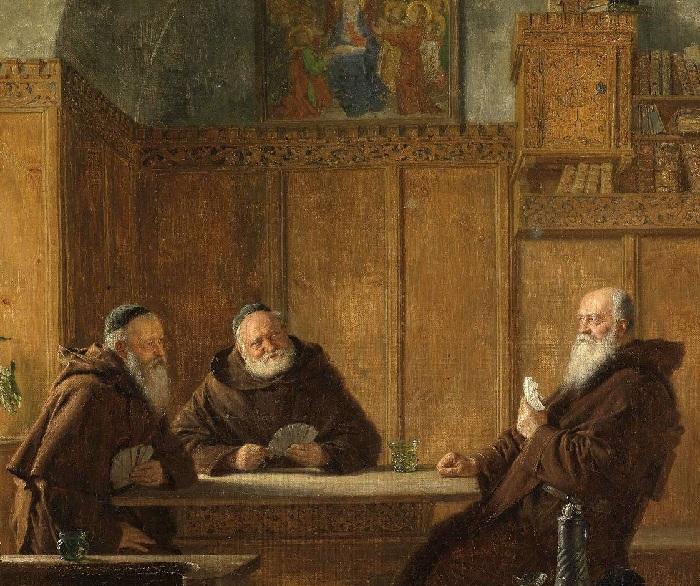 Автор: Эдуард фон Грютцнер.