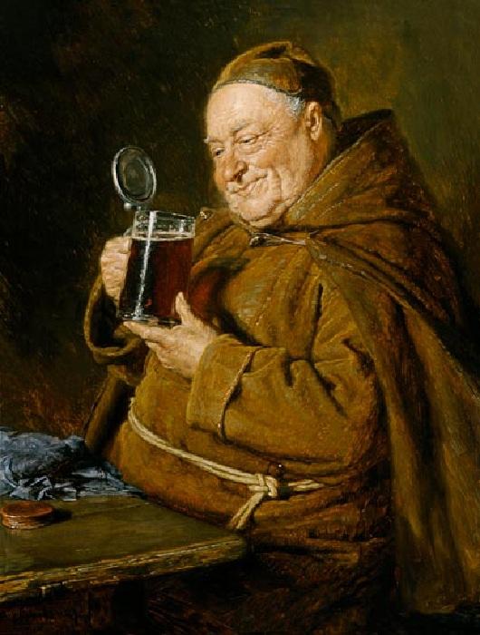 Дегустация пива. Автор: Эдуард фон Грютцнер.