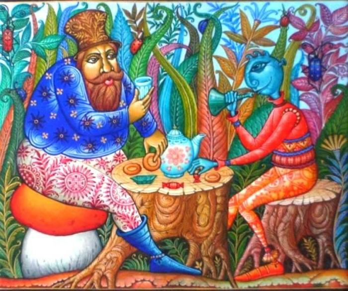 Художественная миниатюра от Даниила Молодкина.