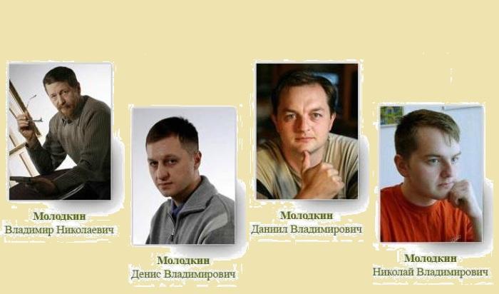 Династия  художников Молодкиных.