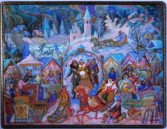 Художественная миниатюра от Владимира Николаевича Молодкина.