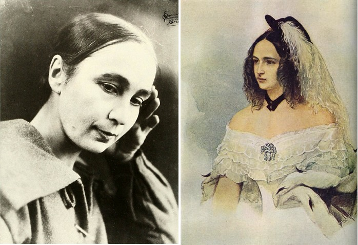 Н.С. Гончарова - двоюродная правнучка Н.Н. Гончаровой.