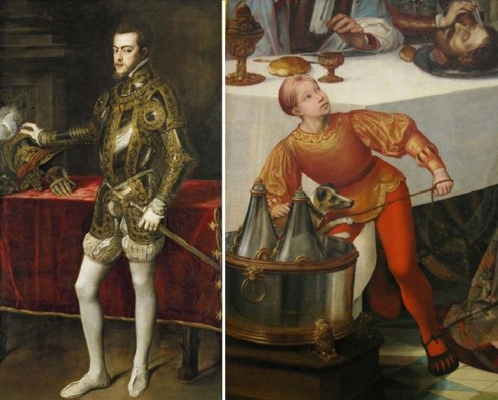 Мода на обувь в 15 веке.