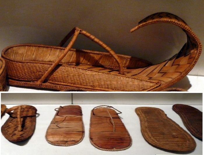 Древнеегипетская обувь.