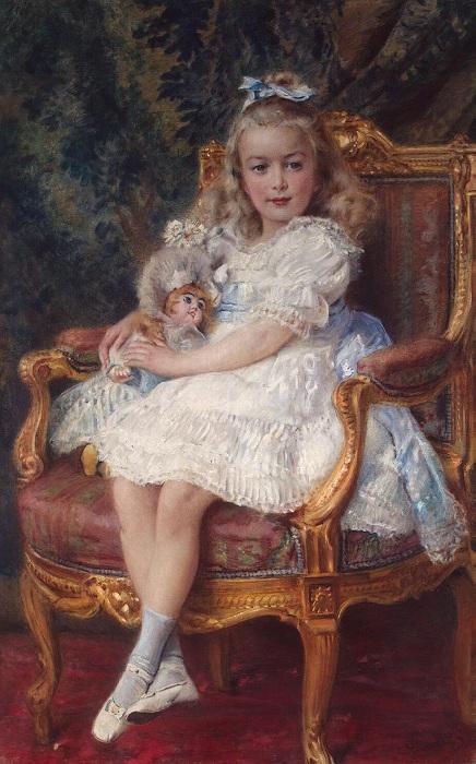 Портрет Марии Николаевны. Автор: Константин Маковский.