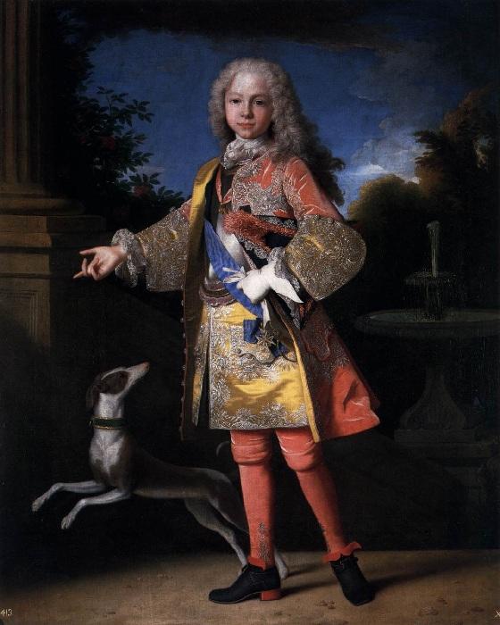 Принц Фердинанд VI Автор: Jean RANC.