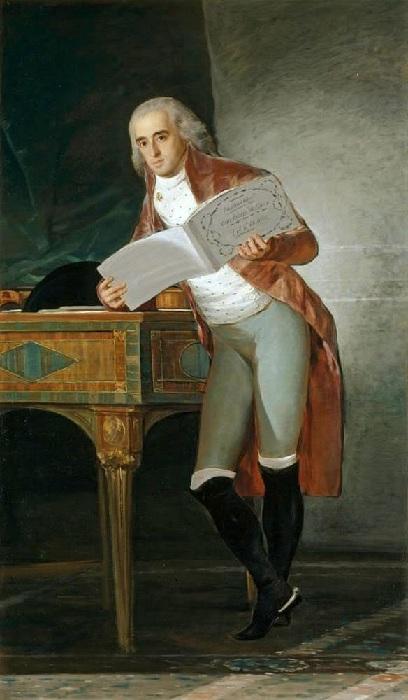Мужской портрет. Автор: Франсиско Гойя.