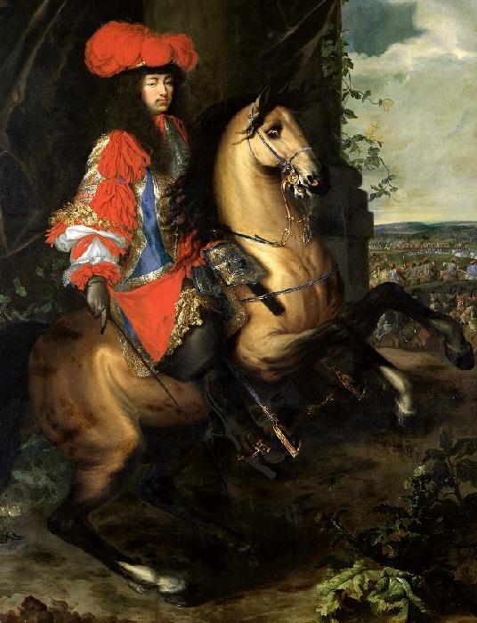 Людовик XIV. Автор: Шарль Лебрен.