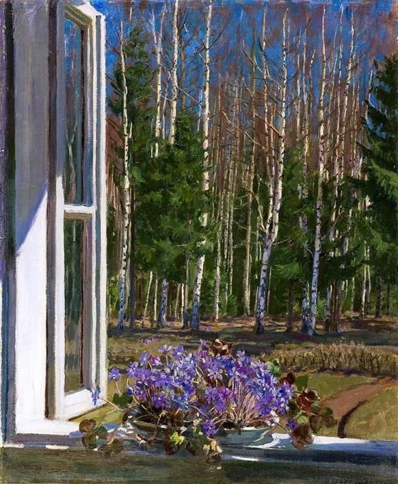 *Окна в живописи* от Станислава Жуковского.