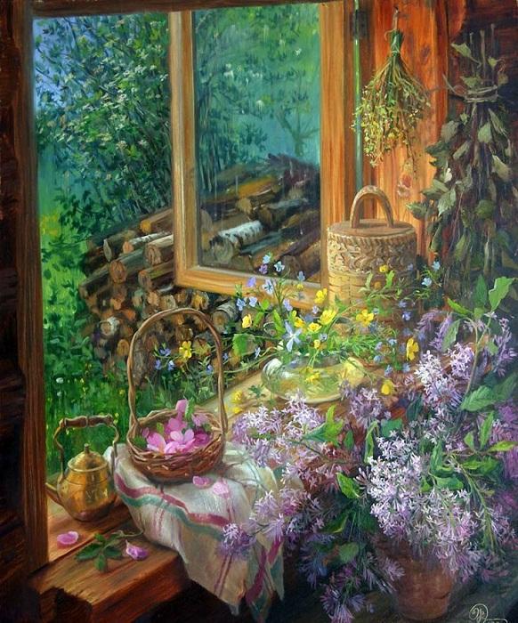 *Окна в живописи* от Владимира Жданова.