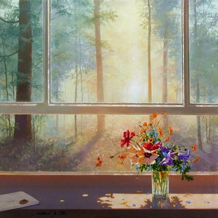 *Окна в живописи* от Михаила Горбаня.