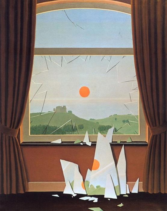 Вечереет. (1964). Автор: Рене Магрит.