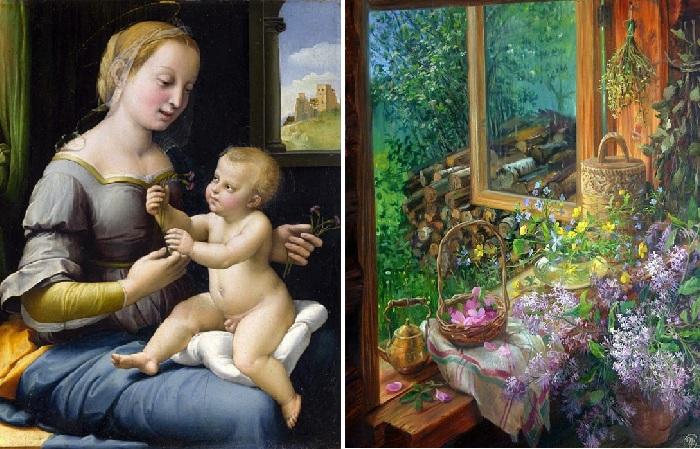 Что видели знаменитые живописцы в окнах начиная с эпохи Возрождения и до нынешнего времени.