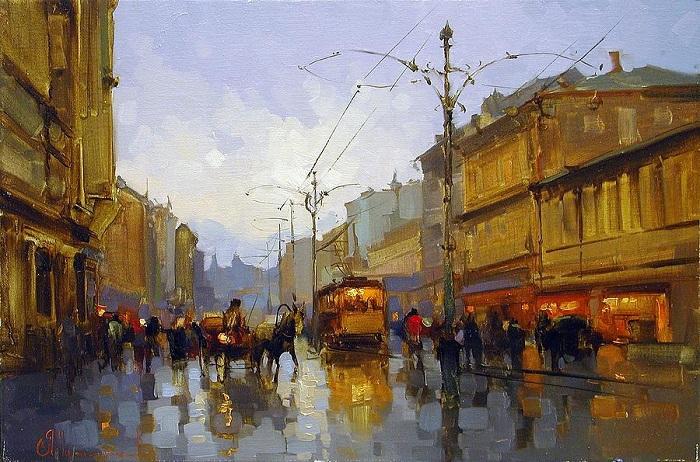 «Долгоруковская улица». Автор: Шалаев Алексей.