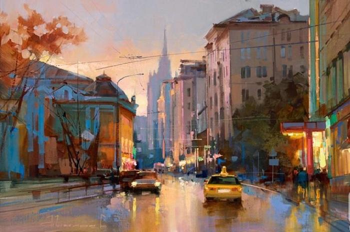 «Улица Поварская. Добрый вечер». Автор: Шалаев Алексей.