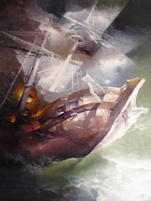 Живопись от Petrasa Lukosiusa.