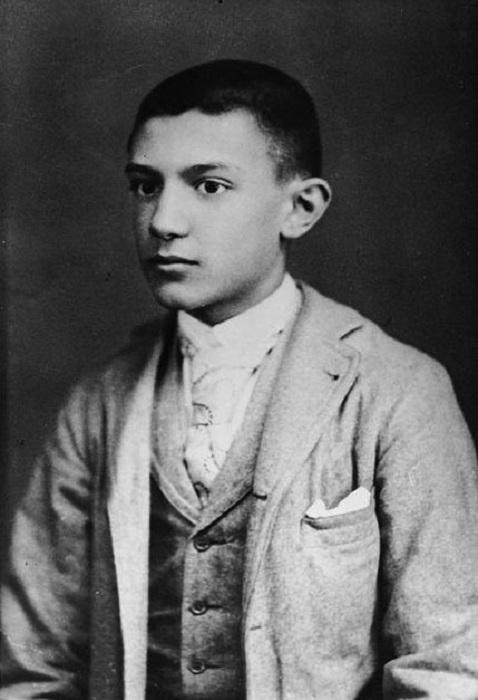 Пабло Пикассо в 15-летнем возрасте.