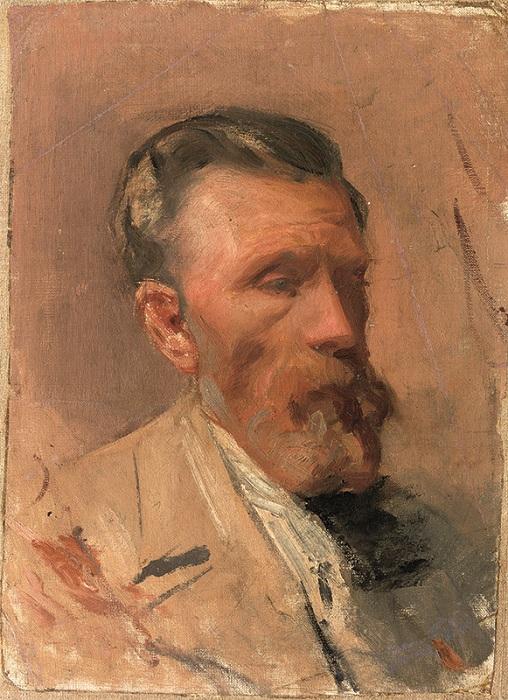 Отец Пабло Пикассо.(1896). Автор Пабло Пикассо.