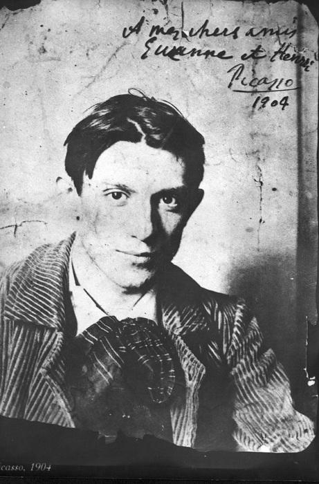 Пабло Пикассо. Фото. 1904 год.