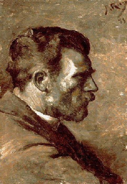 Хосе Руис - отец художника. Автор Пабло Пикассо.