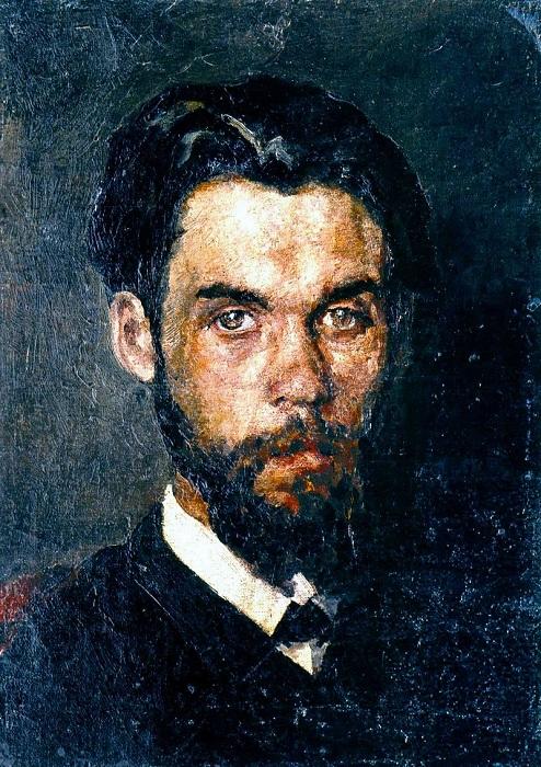 «Автопортрет». (1912). Национальный художественный музей Украины. Автор: Николай Пимоненко.