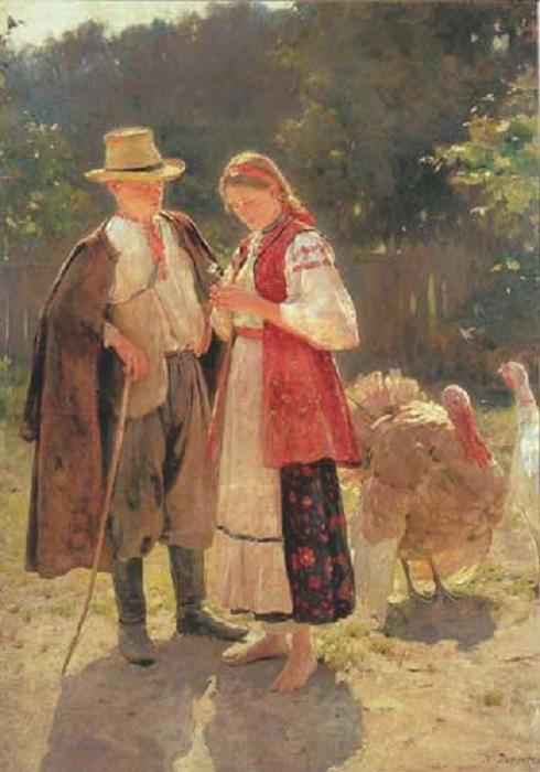 «Идиллия». Автор: Николай Пимоненко.