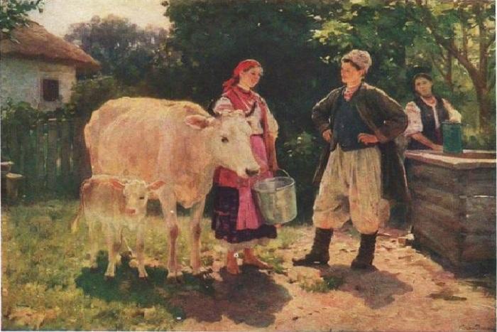 «Соперницы». Автор: Николай Пимоненко.