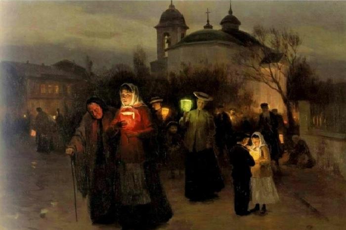 «Чистый четверг». Автор: Николай Пимоненко.