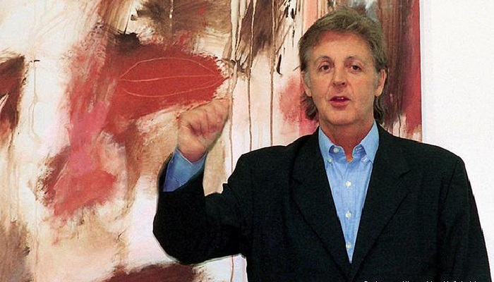 «Я думал, что только те, кто учится в художественном колледже, могут рисовать».Пол Маккартни.