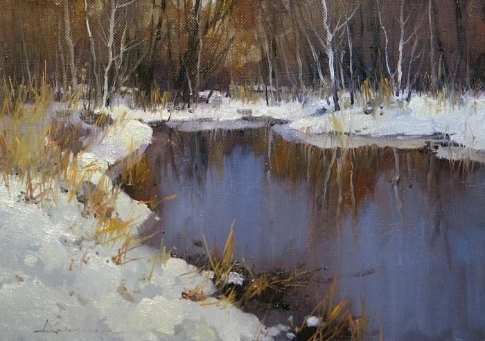 «Конец зимы». Автор: Алексея Савченко.
