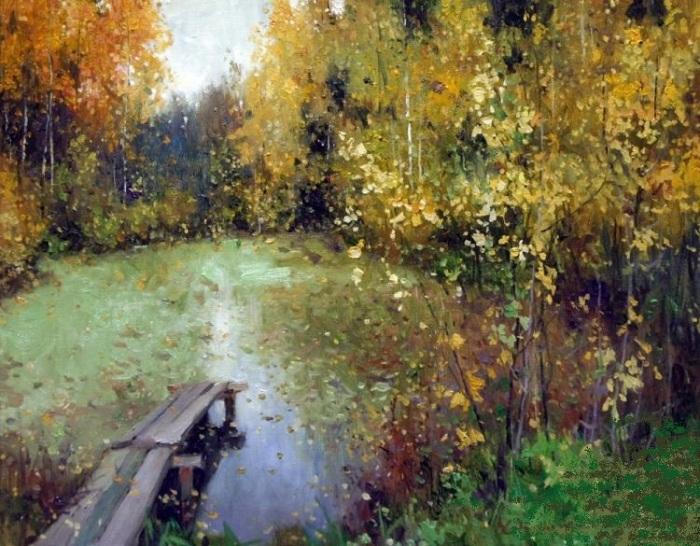 Этюдная живопись от Алексея Савченко.