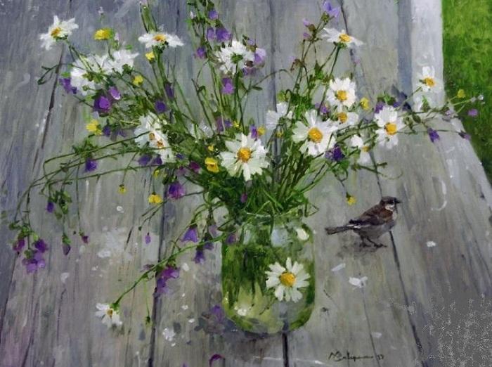 «Полевые цветы» от Алексея Савченко.