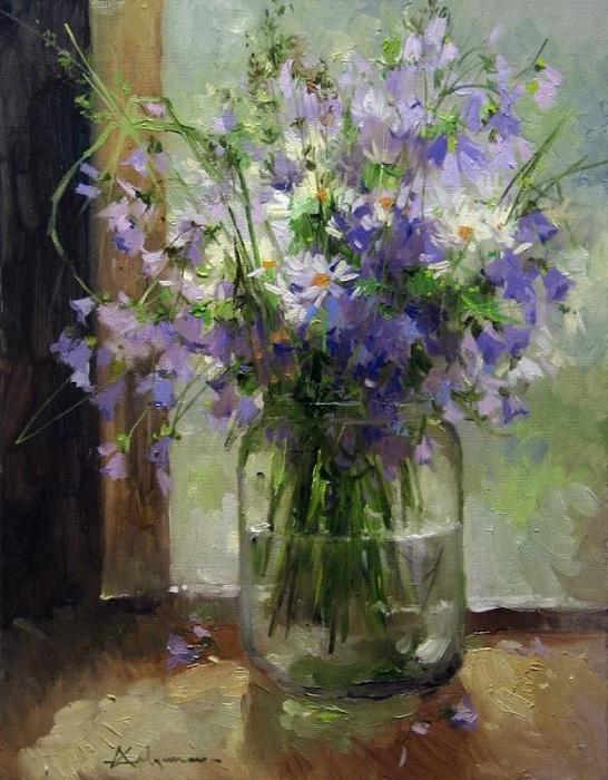 «Букет полевых цветов». Автор: Алексея Савченко.