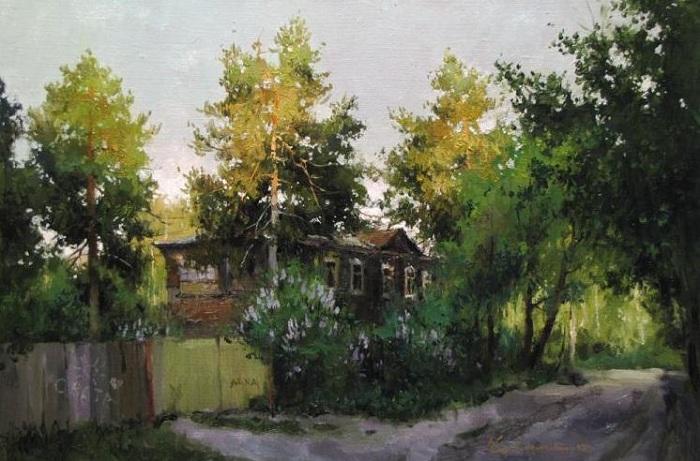 «Дворик детства». Автор: Алексея Савченко.