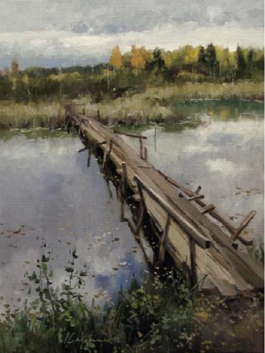 «Другой берег». Автор: Алексея Савченко.
