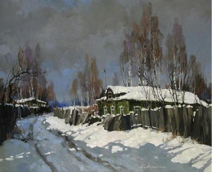«К весне». Автор: Алексея Савченко.