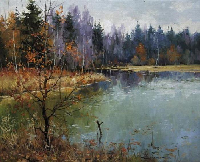 «Последние листья». Автор: Алексея Савченко.
