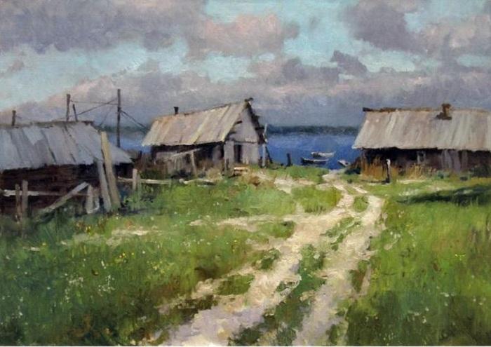 «Рыбацкая». Автор: Алексея Савченко.