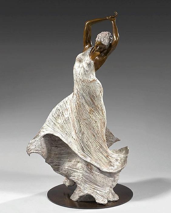 IRIS. Бронзовые скульптуры от Натали Сегуин.