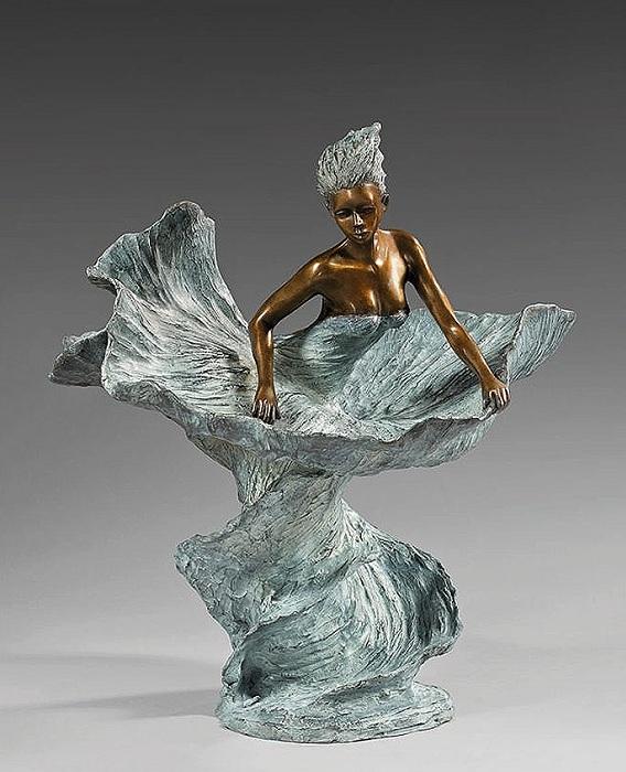 ANABELLE. Бронзовые скульптуры от Натали Сегуин.