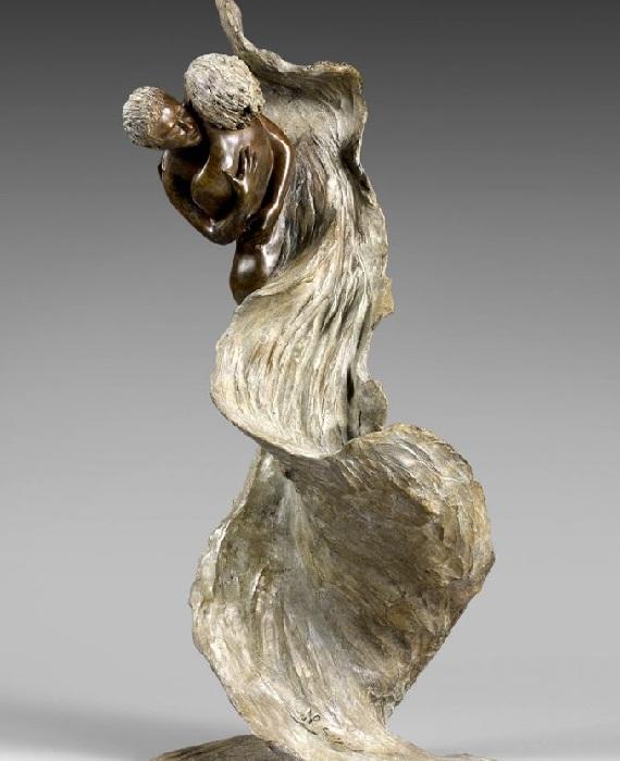 FLAMME. Бронзовые скульптуры от Натали Сегуин.