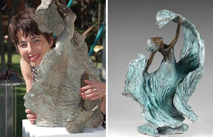 Французская скульптор Натали Сегуин (Nathalie Seguin).