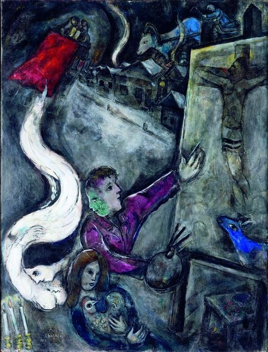 «Между войной и миром». Автор: Марк Шагал.